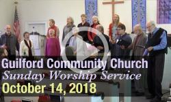 Guilford Church Service - 10/14/18