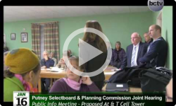 Putney Selectboard / Planning Commision Special Mtg. 1/16/14