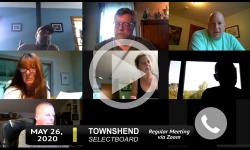 Townshend Selectboard: Townshend SB Mtg 5/26/20