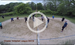 Chester Volleyball League: Shazam vs Tate's Tots 6/4/19