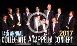 14th Annual Collegiate A Cappella Concert 2/4/17