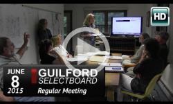 Guilford Selectboard Mtg 6/8/15