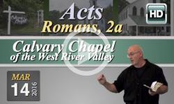 Calvary Chapel: March 14, 2016