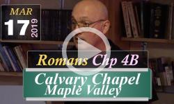 Calvary Chapel: Romans Chp 4