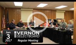 Vernon Selectboard Mtg 1/3/16