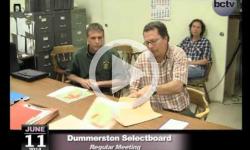 Dummerston Selectboard Mtg. 6/11/14