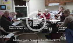 Brattleboro Housing Partnerships Board Mtg 12/17/18