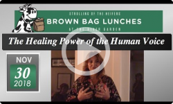 River Garden Brown Bag Lunch Series: Moltisanti Soul Singing - The Healing Power of the Human Voice