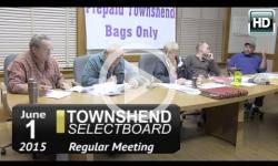 Townshend Selectboard: 6/1/15