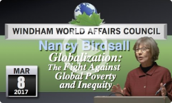 WWAC: Nancy Birdsall - Globalization 3/8/17