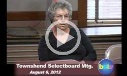 Townshend Selectboard Mtg.8/6/12