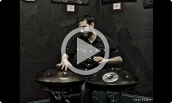 """The Quarantine Sessions from Next Stage Arts Project: Jed Blume Performing """"Spellbound"""" on Handpan"""