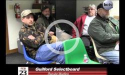 Guilford Selectboard Mtg 2/23/15