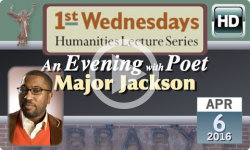 1st Wednesdays: Poet Major Jackson