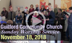 Guilford Church Service - 11/18/18
