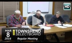 Townshend Selectboard Mtg 3/8/16