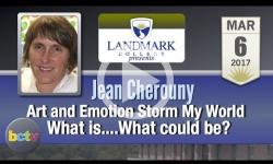 Landmark College presents: Jean Cherouny, Art & Emotion 3/6/17