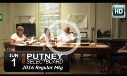 Putney Selectboard 6/1/16
