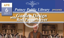 Garden Design with Rod Payne-Meyer at Putney Library 4/6/17