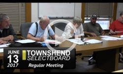 Townshend Selectboard Mtg 6/13/17
