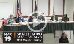 Brattleboro Selectboard Mtg 3/19/19