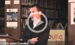1st Weds. Dr. Javier Corrales 4/13/11