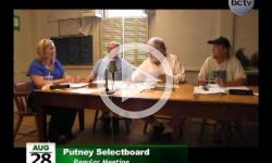 Putney Selectboard Mtg 8/27/14