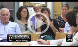 Dummerston School Board Mtg. 6/14/16