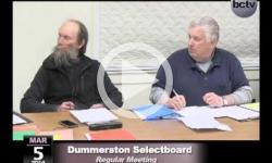 Dummerston Selectboard Mtg. 3/5/14