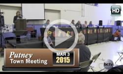 2015 Putney Town Mtg 3/3/15