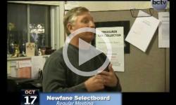 Newfane Selectboard Mtg. 10/17/13