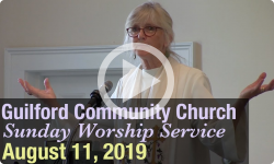 Guilford Church Service - 8/11/19