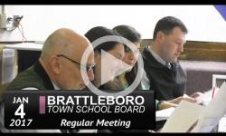 Brattleboro Town School Bd Mtg 1/4/17