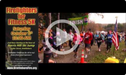 Firefighters for Fitness 5k: 2016 Promo