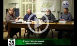 Putney Selectboard Mtg 1/28/15