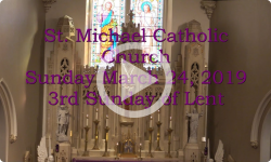 Mass from Sunday, March 24, 2019