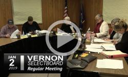 Vernon Selectboard Mtg 1/2/19