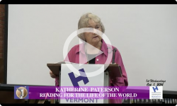 1st Wednesdays: Katherine Paterson - 10/1/14