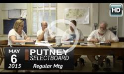 Putney Selectboard 5/6/15