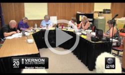 Vernon Selectboard Mtg. 7/20/15