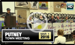2016 Putney Town Meeting: 3/1/16
