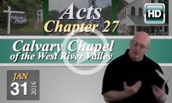 Calvary Chapel: January 31, 2016
