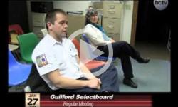 Guilford Selectboard Mtg. 1/27/14