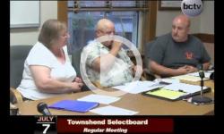 Townshend Selectboard Mtg. 7/7/14