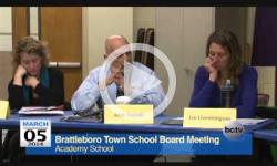 Brattleboro Town School Bd. Mtg. 3/5/14