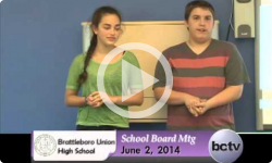 Brattleboro Union High School Bd. Mtg. 6/2/14