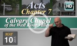 Calvary Chapel: May 10, 2015