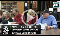 WCSU: Executive Committee Mtg 2/24/16