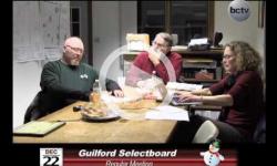 Guilford Selectboard Mtg 12/22/14
