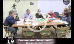 Dummerston Selectboard Meeting 3/19/2014